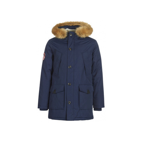 Superdry EVEREST PARKA men's Parka in Blue