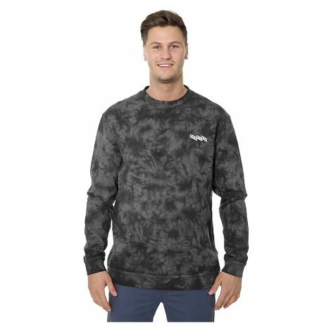 sweatshirt Quiksilver Knollout - KSQ6/Raven Tie And Dye
