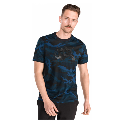 Armani Exchange T-shirt Black Blue