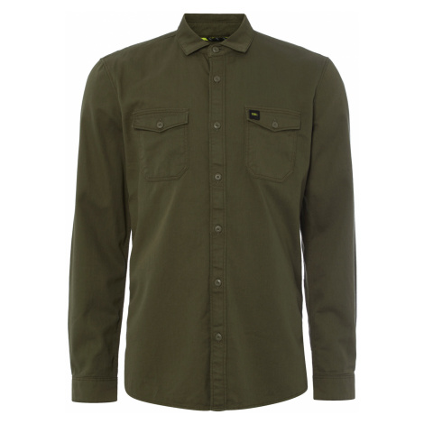O'Neill Creek Twill Shirt Green
