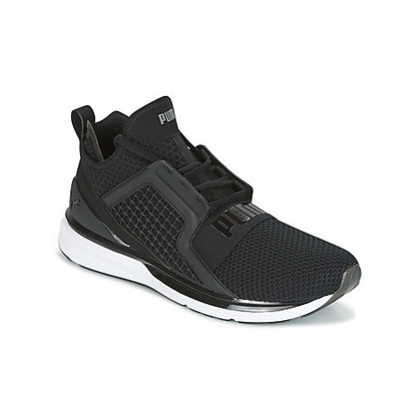 Puma IGNITE LIMITLESS WEAVE men's Running Trainers in Black