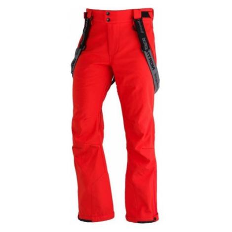 Northfinder LUX red - Men's softshell ski pants