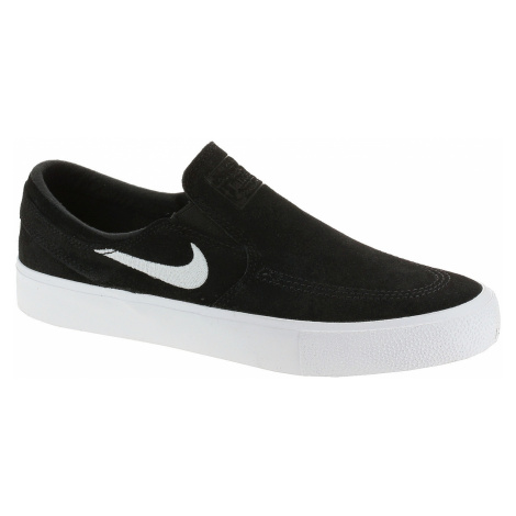 shoes Nike SB Zoom Janoski Slip RM - Black/White/White
