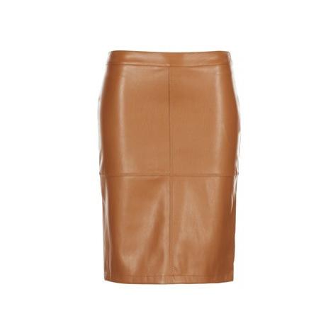 Vila VIPEN women's Skirt in Brown