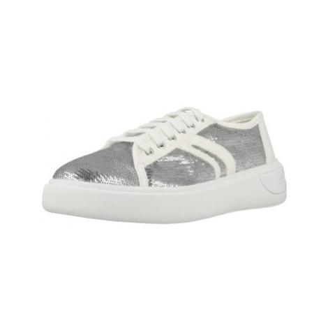Geox OTTAYA E women's Shoes (Trainers) in White