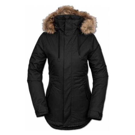 Volcom FAWN INS JACKET black - Women's ski/snowboard jacket