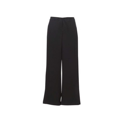 Naf Naf E-LARGE P1 women's Trousers in Black