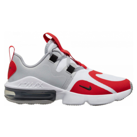 Nike AIR MAX INFINITY GS white - Kids' leisure shoes