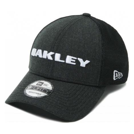 Oakley HEATHER NEW ERA HAT black - Men's baseball cap