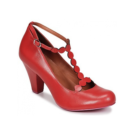 Cristofoli ELOY women's Court Shoes in Red Cristófoli
