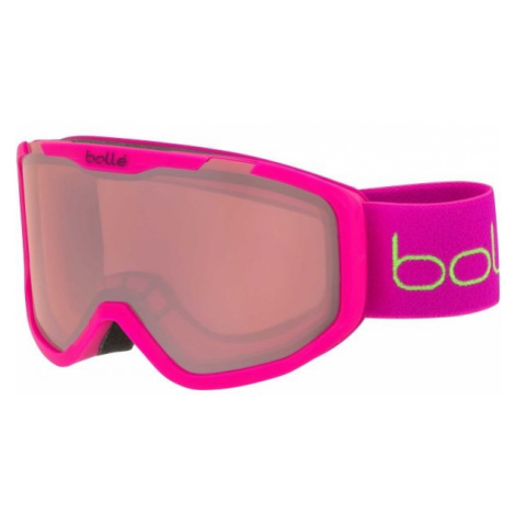 Bolle ROCKET pink - Children's downhill ski goggles