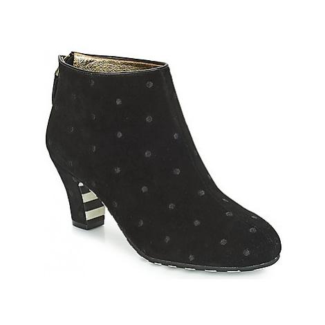Lola Ramona AVA women's Low Ankle Boots in Black
