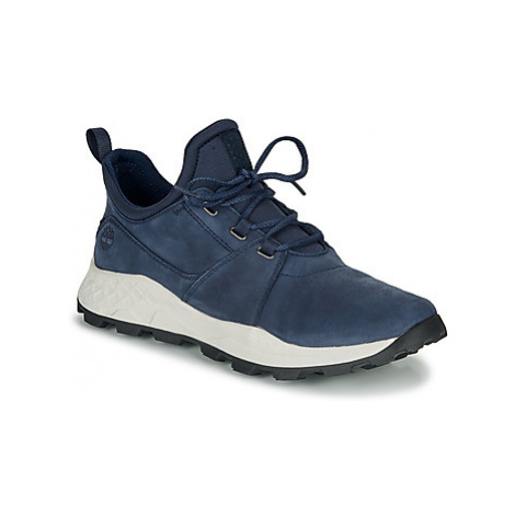 Timberland BROOKLYN LACE OXFORD men's Shoes (Trainers) in Blue