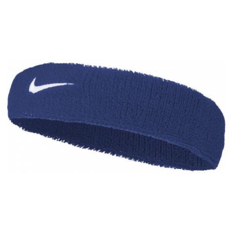 Nike SWOOSH HEADBAND blue - Headband