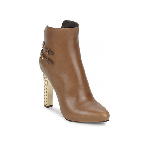 Roberto Cavalli WDS229 women's Low Ankle Boots in Brown