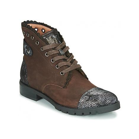 Mam'Zelle YERINE women's Mid Boots in Brown