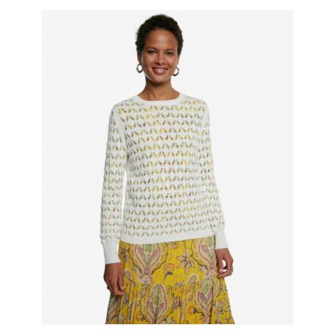 Desigual Saint Louis Sweater White
