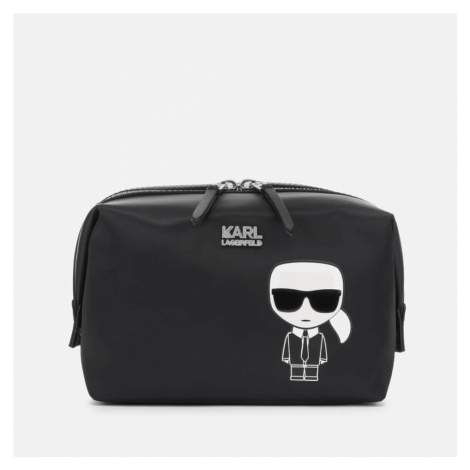 Karl Lagerfeld Women's K/Ikonik Washbag Karl - Black