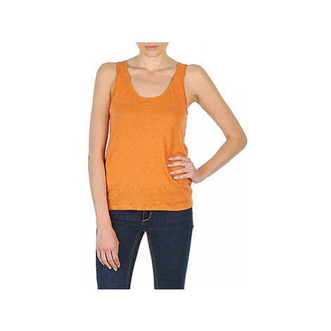Majestic BASTIENNE women's Vest top in Orange