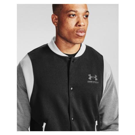 Under Armour Rival Fleece Varsity Sweatshirt Black