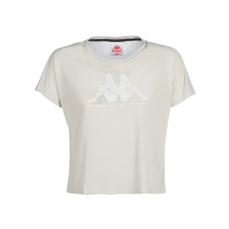 Kappa YERRI women's T shirt in Beige