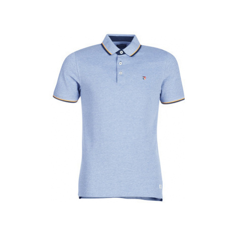Jack Jones JPRPAULOS men's Polo shirt in Blue Jack & Jones