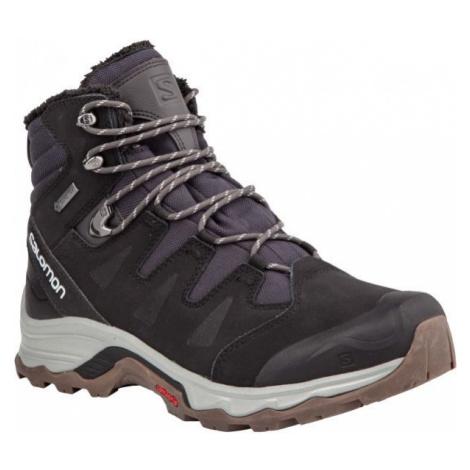 Salomon QUEST WINTER GTX black - Men's winter shoes