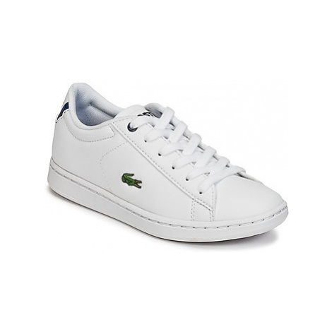 Lacoste CARNABY EVO BL 1 girls's Children's Shoes (Trainers) in White