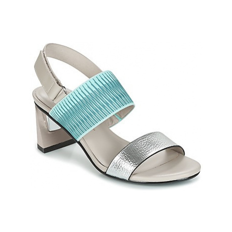 United nude ZINK SLINGBACK MID women's Sandals in Silver
