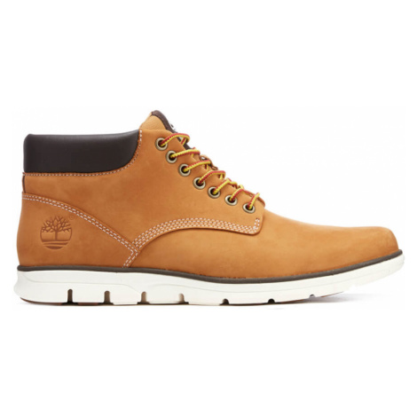 Timberland Men's Bradstreet Leather Chukka Boots - Wheat - UK
