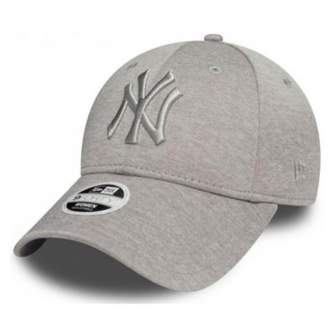 New Era 9FORTY W MLB JERSEY HEATHER NEW YORK YANKEES grey - Women's club baseball cap