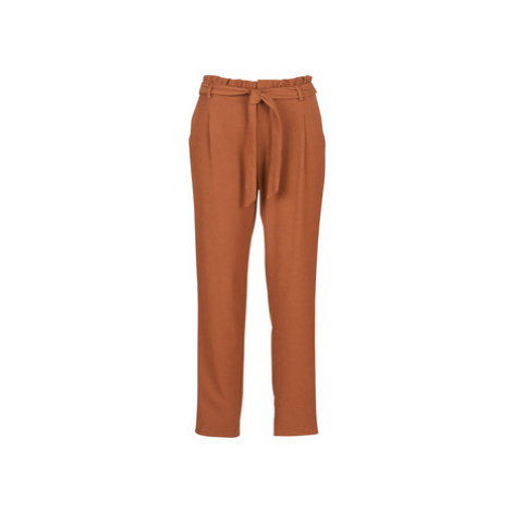 Betty London JOUNI women's Trousers in Brown