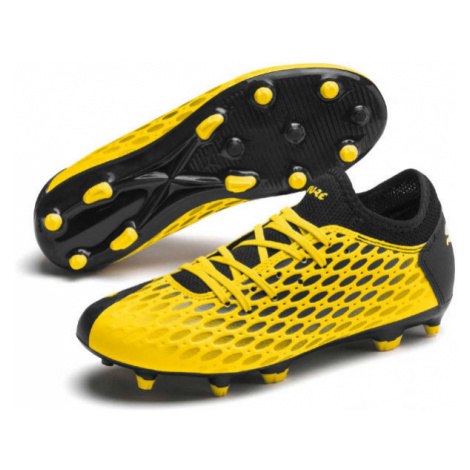 Puma FUTURE 5.4 FG-AG JR yellow - Kids' football boots