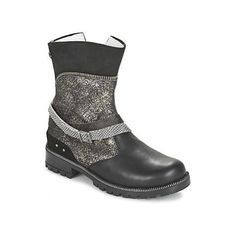 Ikks ROBERTA girls's Children's Mid Boots in Black