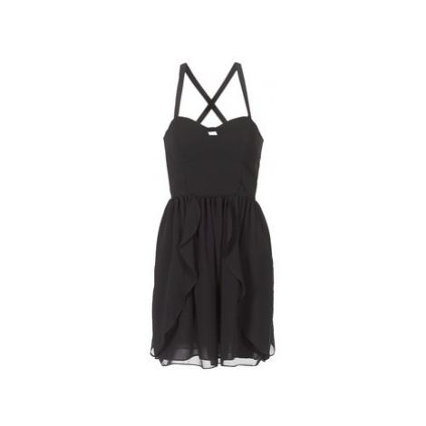 Naf Naf LENY R1 women's Dress in Black