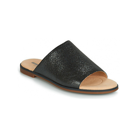 Clarks BAY PETAL women's Mules / Casual Shoes in Black