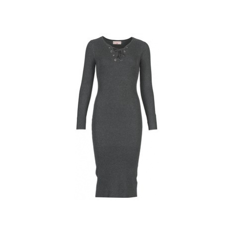 Moony Mood - women's Long Dress in Grey