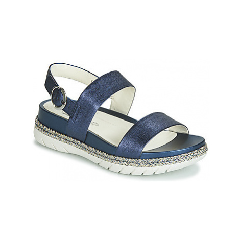 Stonefly SARAH 3 LAMINATED LTH women's Sandals in Blue