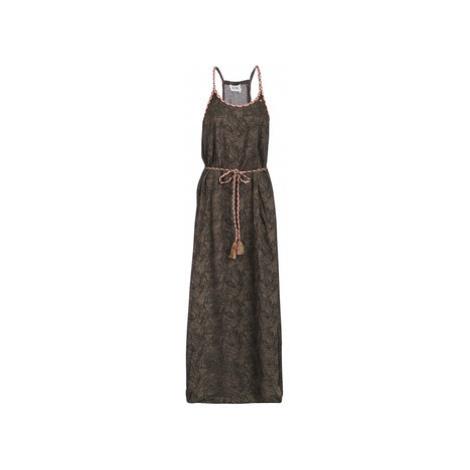 Kaporal BELLY women's Long Dress in Kaki