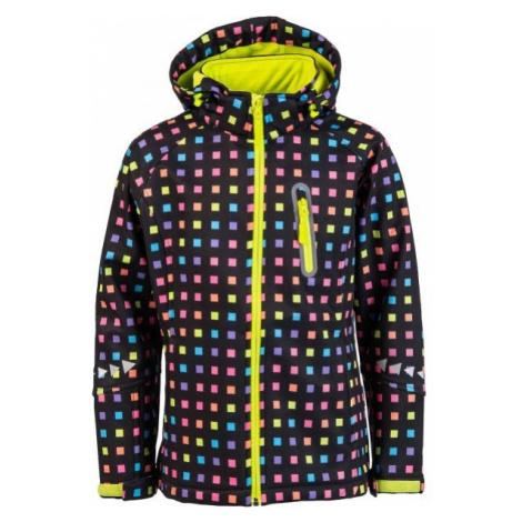 Lewro ELVIRA black - Girls' softshell jacket