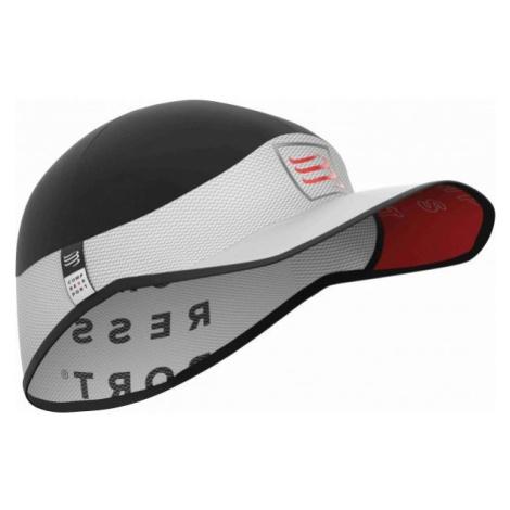 Compressport PRO RACING ULTRALIGHT CAP white - Running baseball cap