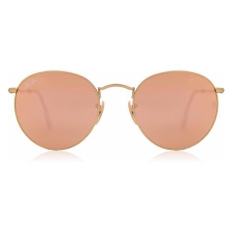 Ray-Ban Sunglasses RB3447 Round Flash Lenses 112/Z2