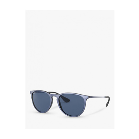 Ray-Ban RB4171 Women's Oval Sunglasses, Black
