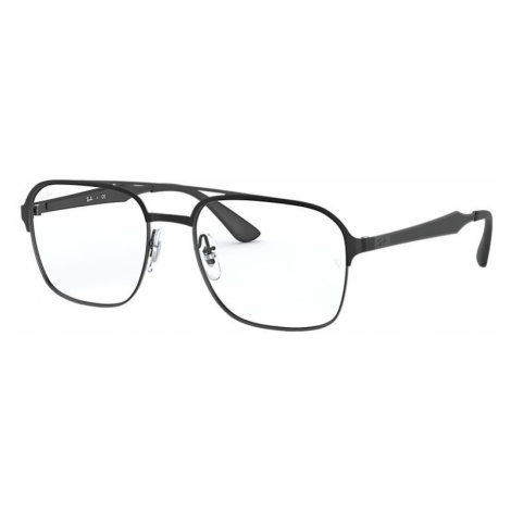Ray-Ban Rb6404 Unisex Optical Lenses: Multicolor, Frame: Black - RB6404 2944 56-18