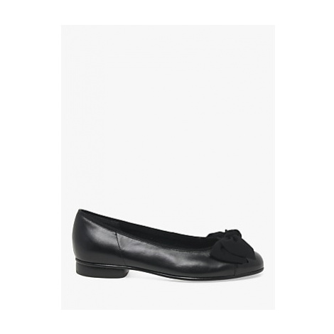 Gabor Amy Patent Leather Ballet Pumps, Black