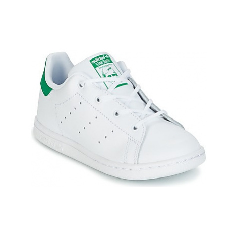 Adidas STAN SMITH I girls's Children's Shoes (Trainers) in White