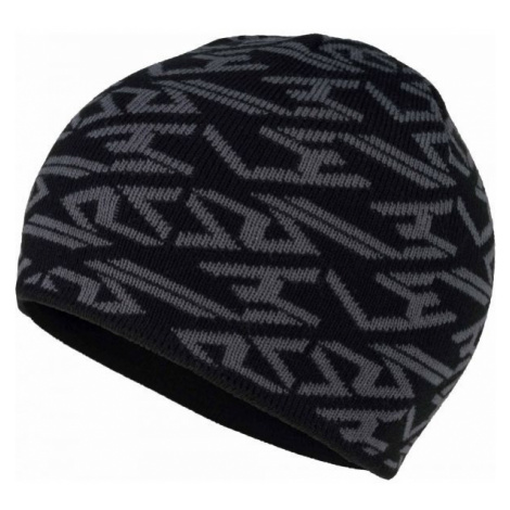 Lewro JASPER black - Boys' knitted beanie