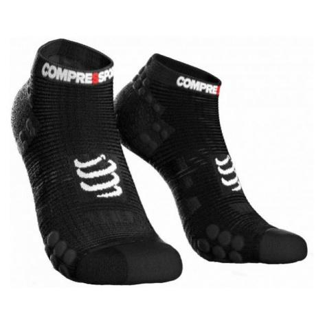 Compressport RACE V3.0 RUN LO black - Running socks