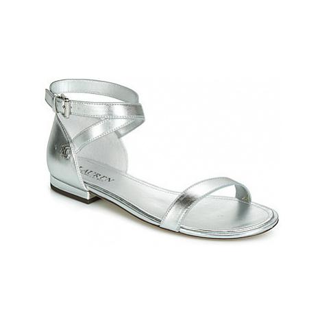 Lauren Ralph Lauren DAVISON women's Sandals in Silver