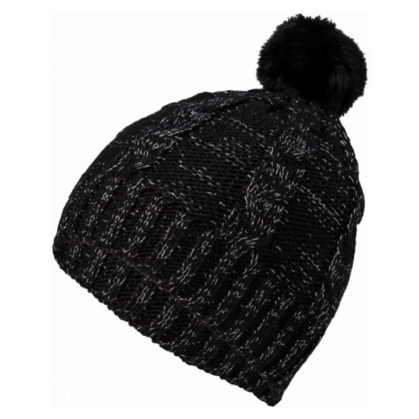 Lewro CORSOLA black - Girls' knitted hat